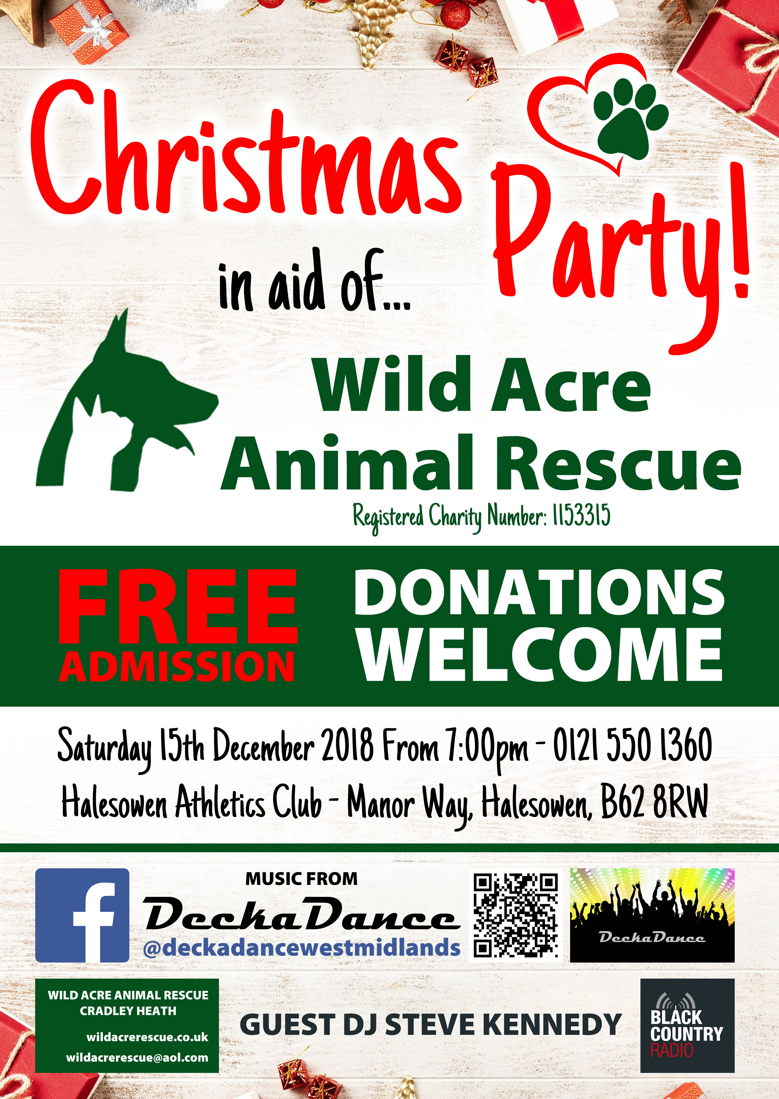 Wild Acre Animal Rescue designed by Screen-Dreams